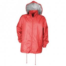 Jachetă impermeabilă unisex, cu elemente reflectorizante, din PVC, Rony II