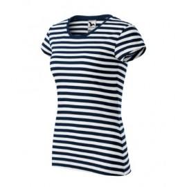Tricou de damă cu dungi Sailor, bumbac 100%, 150 g/mp