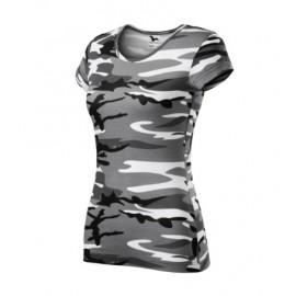 Tricou de damă Camo Pure, bumbac 100%, 150 g/mp