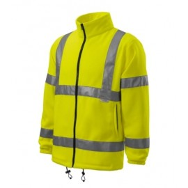 Jachetă fleece reflectorizantă unisex, poliester 100%, 280 g/mp, HV Fleece Jacket