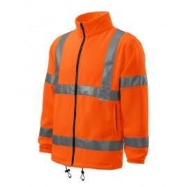 Jachetă fleece reflectorizantă unisex, poliester 100%, 280 g/mp, HV Fleece Jacket