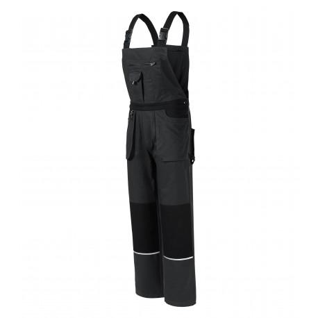 Pantaloni cu pieptar de lucru, din 100% bumbac, 270 g/mp, Woody