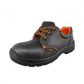 Pantofi de protecție din piele cu bombeu metalic S1P, BPS