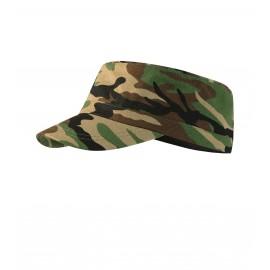 Șapcă reglabilă unisex, 100% bumbac, 230 g/mp, Camo Latino