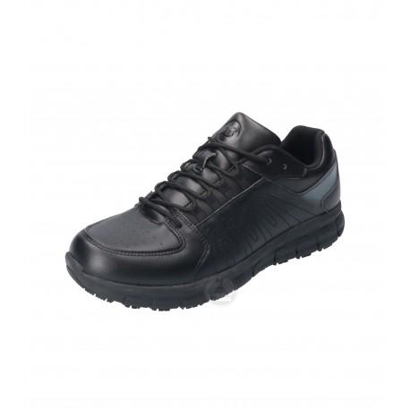 Pantofi de lucru unisex din piele, cu talpă antiderapantă, Charge