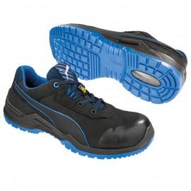 Pantofi de protecție cu amortizare extremă, Puma Argon Blue Low