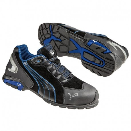Pantofi de protecție flexibili și performanți, Puma Rio Black Low S3 SRC