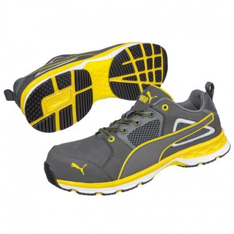 Pantofi de protecție rezistenți la căldură extremă, Puma Pace 2.0 Yellow Low S1P ESD HRO SRC