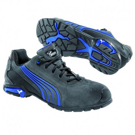 Pantofi de protecție cu bombeu din aluminiu, Puma Milano Low S1P SRC