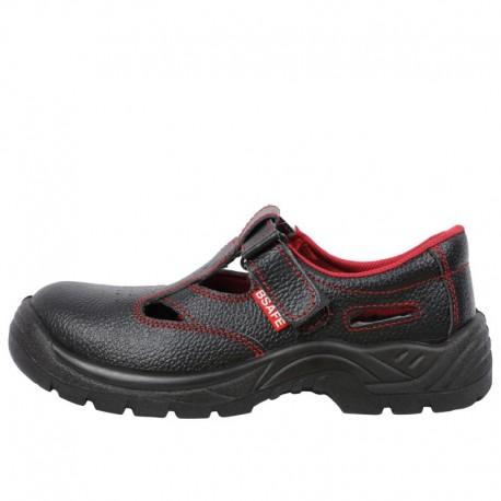 Sandale de protecție cu bombeu metalic, ergonomice, Toledo S1 Src