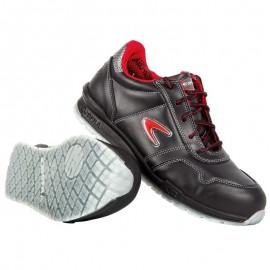 Pantofi de protecție cu bombeu din aluminiu, Zatopek S3 SRC