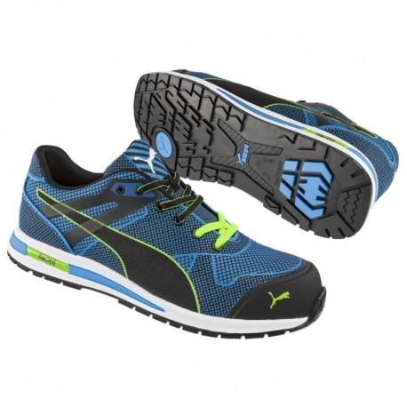 Pantofi de protecție flexibili, rezistenți la abraziune, PUMA Blaze Knit Low S1P