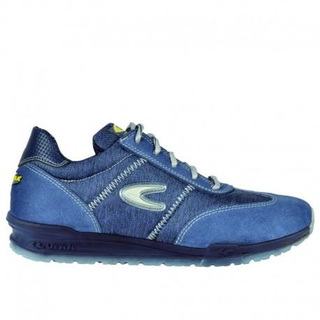 Pantofi de protecție respirabili, anstistatici și antiderapanți, Brezzi S1P SRC