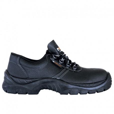 Pantofi de lucru din piele, cu talpă antiderapantă, Alba Low O1