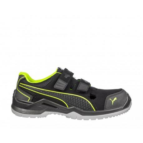 Pantofi de protecție ultra-comozi, Puma Neodyme Green Low S1P