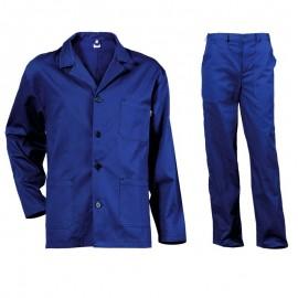 Costum de lucru pentru vară din 100% bumbac, 240 g/mp, V2