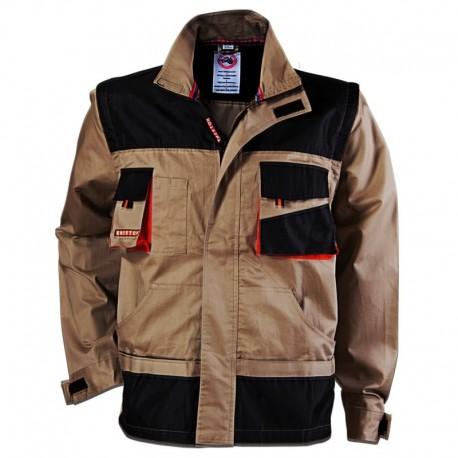 Jachetă de lucru multifuncțională, 2 în 1, din bumbac, 185 g/mp, Summer Emerton