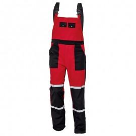 Pantaloni cu pieptar de lucru ultra-rezistenți, bumbac / poliester, 240 g/mp, Tayra