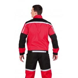 Costum de lucru (jachetă + pantaloni cu pieptar), rezistent la apă și uleiuri, Tayra