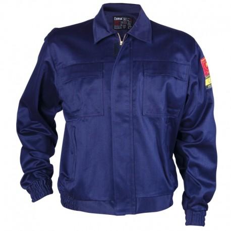 Jachetă de lucru antistatică, ignifugă, 100% bumbac, 345 g/mp, Coen