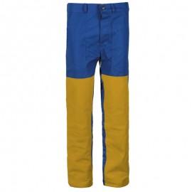 Pantaloni de lucru pentru sudură, din bumbac și piele naturală, 240 g/mp, Zava Pro