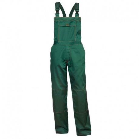 Pantaloni cu pieptar de lucru, din tercot, 195 g/mp, Primo