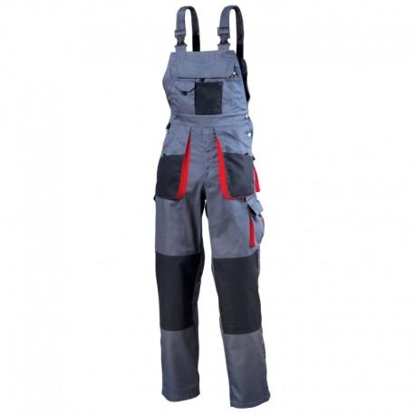 Pantaloni cu pieptar de lucru, buzunare funcționale, 195 g/mp, Torin