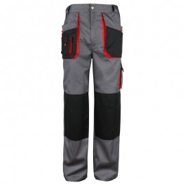 Pantaloni de lucru practici, din tercot, 195 g/mp, Torin