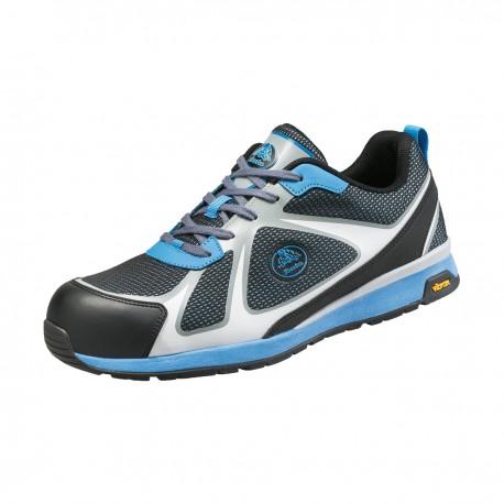 Pantofi de protecție cu bombeu și lamelă nemetalice, unisex, Bright 021 W