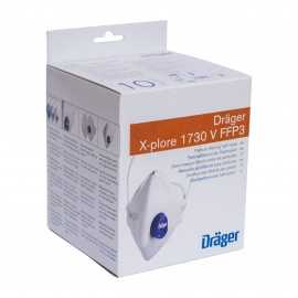 Semimască protecție cu supapă Dräger X-plore 1730V - FFP3