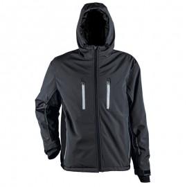 Jachetă softshell pentru bărbați, cu glugă, 310 g/mp, Emerton Sport Winter