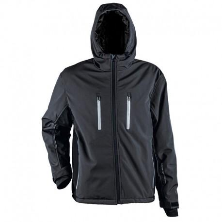 Jachetă softshell pentru bărbați, cu glugă, 310 g/mp, Emerton Sport