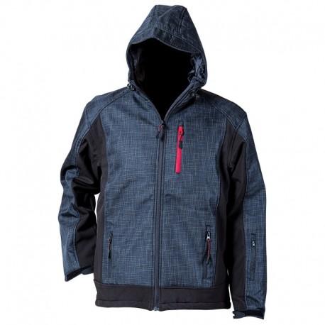 Jachetă softshell respirabilă, din 100% poliester, Euphoria
