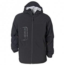 Jachetă softshell ultra-rezistentă, cu glugă, poliester 93%, Extreme Softshell