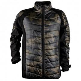 Geacă de iarnă matlasată softshell, poliester 100%, Spark Pro Camouflage
