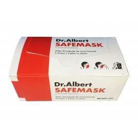 Dr.Albert - Masca de protectie medicala / chirurgicala, 3 straturi