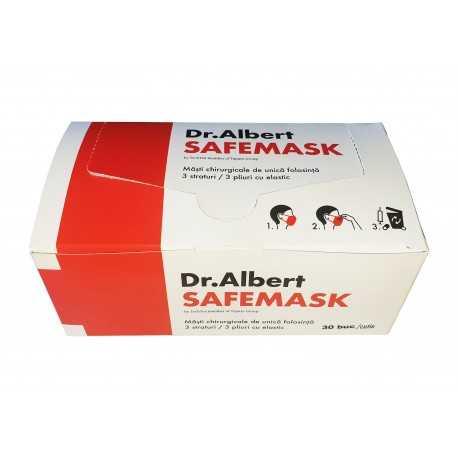 Mască de protecție medicală / chirurgicală, 3 straturi