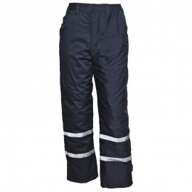Pantaloni de lucru pentru iarnă, impermeabili, Collins Winter Blue