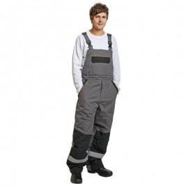Pantaloni cu pieptar, rezistență extremă -40 ° C, 180 g/mp, Emerton