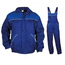Costum de lucru căptușit, pentru iarnă, din 100% bumbac, Dimmy