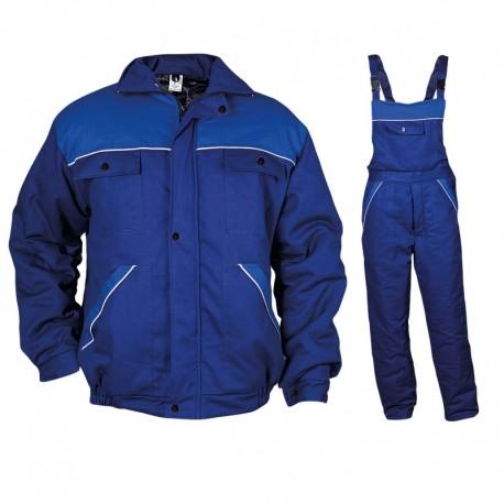 Costum de lucru căptușit, pentru iarnă, din 100% bumac, Dimmy