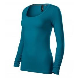 Tricou cu mânecă lungă de damă, 95% bumbac, 160 g/mp, Brave