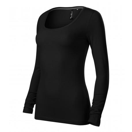 Tricou de damă cu mânecă lungă, 95% bumbac, 160 g/mp, Brave