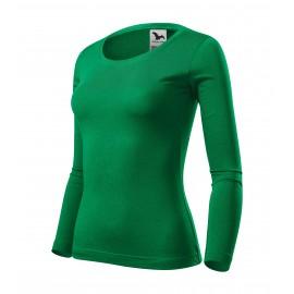 Tricou cu mânecă lungă pentru femei, 100% bumbac, 160 g/mp, FIT-T LS