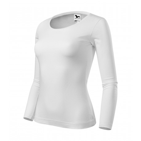Tricou pentru femei cu mânecă lungă, 100% bumbac, 160 g/mp, FIT-T LS