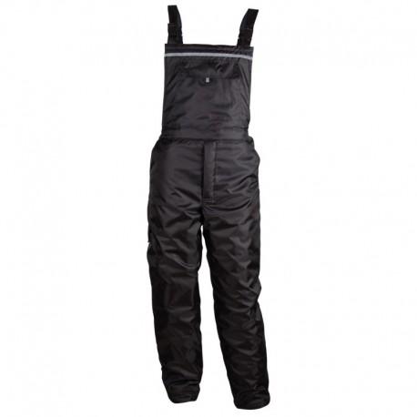Pantaloni cu pieptar de lucru pentru iarnă, impermeabili, Rodd BG