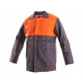Costum salopetă de sudor MOFOS: bluză + pantalon, bumbac 100%