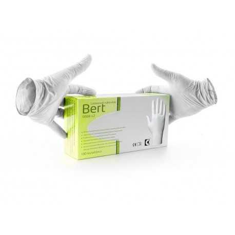 Mănuși unică folosință din latex BERT, 0006-L2