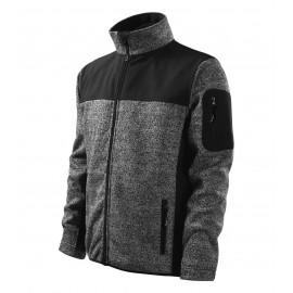 Jachetă softshell pentru bărbaţi Casual, poliester 100%, 350 g/mp