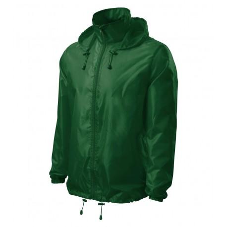 Jachetă de protecţie împotriva vântului unisex Windy, poliester 100%